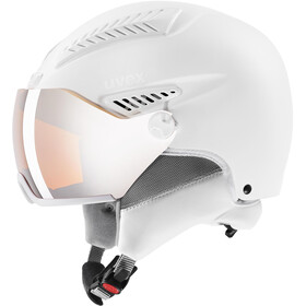 UVEX hlmt 600 Visor Casco, all white mat